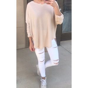 Forever 21 Tops - Casual waffle knit tee